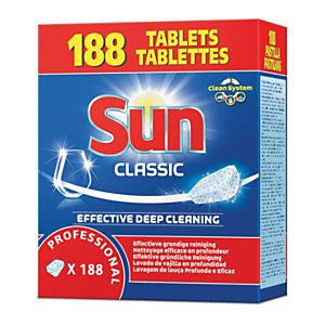 Sun Classic Detergente profesional caja de 188 pastillas