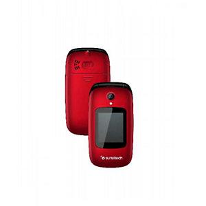 "Sunstech CELT22, Concha, SIM doble, 6,1 cm (2.4""), 0,08 MP, 1000 mAh, Negro, Rojo CELT22RD"