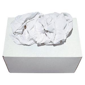 Super witte textiel vodden, per doos van 10 kg
