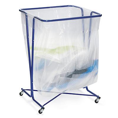 Suporte móvel para saco de plástico 600 litros