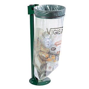 Support sac Ecollecto vert 110 L