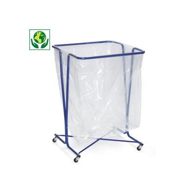 Support sac poubelle mobile 600 L