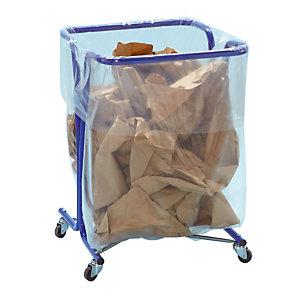 Support sac à roulettes 240 L Mottez
