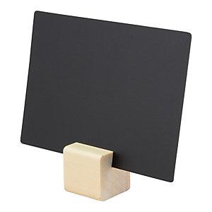 Supporti per targhe scrivibili Tag in legno con con 1 marcatore a gesso e 6 Tag A7 inclusi
