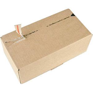 SUSIBOX 10 Boîtes postales, brun, 268x135x100mm