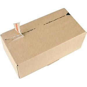 SUSIBOX 10 boîtes postales, brun, A4+, 310x230x160mm