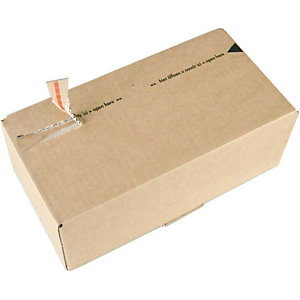 SUSIBOX 10 postdozen, bruin, 268x135x100mm