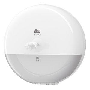 Systeem toiletpapier SmartOne, set verdeler + 6 rollen
