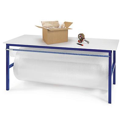 Table d'emballage##Arbeitstisch mit integrierter Schneidevorrichtung
