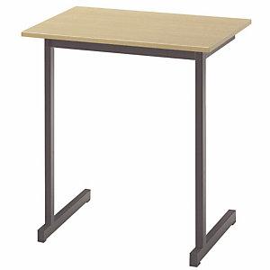 Table de formation classique 1 place - Hêtre/Noir