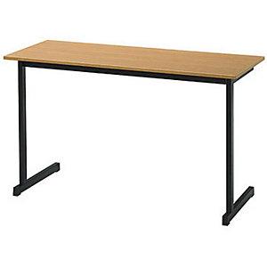 Table de formation classique 2 places - Hêtre/Noir