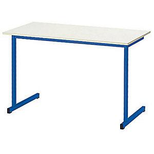 Table de formation classique 2 places - Sable/Bleu