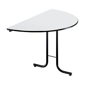 Table pliante modulaire 1/2 Rond Ø 140 cm - Gris