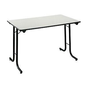 Table pliante modulaire Rectangle L. 120 x P. 70 cm - Gris
