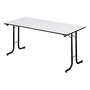 Table pliante modulaire Rectangle L. 160 x P. 70 cm - Gris