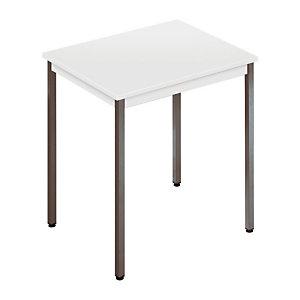 Table polyvalente 70x60cm gris/gris
