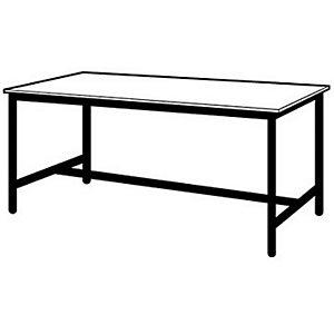 Table de travail multiservices - 200 x 100 cm - 4 pieds