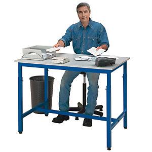 Table de travail réglable en hauteur -  120 x 80 cm