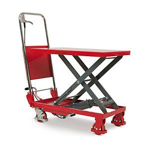 Table élévatrice manuelle mobile