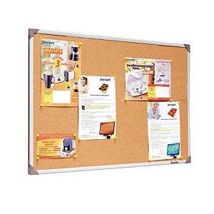 Tableau liège cadre PVC 90 x 120 cm