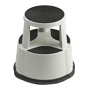 Tabouret Mobil Step antidérapant gris