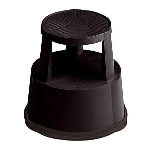 Tabouret Mobil Step antidérapant noir