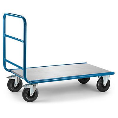 Tábua opcional para carro de transporte com lateral tubular