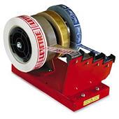 Tafelafroller voor 1,2 of 4 tapes