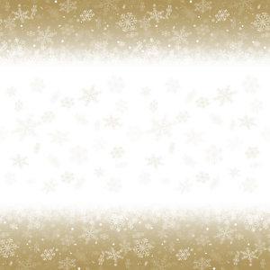 Tafelkleed in damastpapier op rol van 1,18 x 25 m, decor Caleidoscoop Metaalgoud