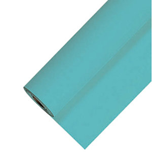 Tafelkleed op rol in non-woven turquoise 1,20 x 25 m