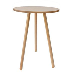 Talky Tavolino alto, ø 70 x h 112 cm, Faggio naturale