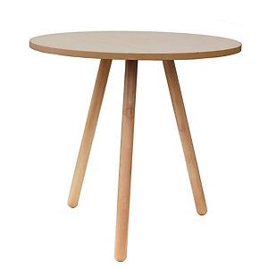 Talky Tavolino medio, Ø 70 x h 75 cm, Faggio naturale