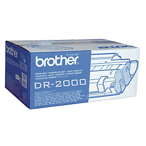 Tambour Brother DR-2000 noir pour imprimantes laser