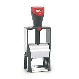 Tampon personnalisable monture métal COLOP