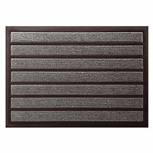 Tapijt Combi' absorberend 90 x 60 cm, grijze kleur