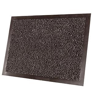 Tapis d'accueil absorbant Classic 0,90 x 1,50 m gris