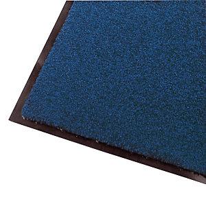 Tapis d'accueil absorbant Wash & Clean 1,20 x 1,80 m bleu