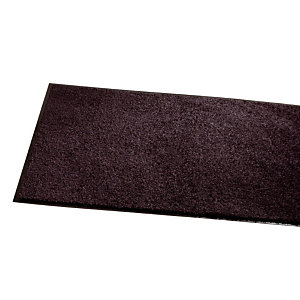 Tapis d'accueil absorbant Wash & Clean 1,20 x 1,80 m noir