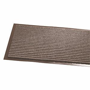 Tapis bandes grattantes 90 x 150 cm coloris gris