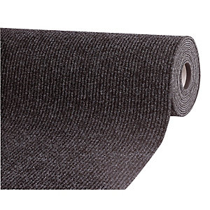 Tapis couloir absorbant Passage largeur 1 m anthracite