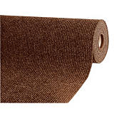 Tapis couloir absorbant Passage largeur 1 m marron