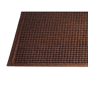 Tapis grattant absorbant Guzzler 0,90 x 1,50 m marron