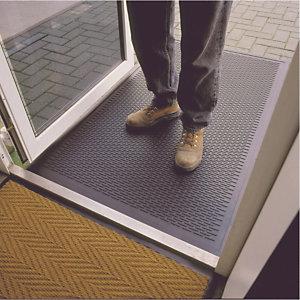 Tapis grattant caoutchouc à lamelles 0,90 x 1,50 m