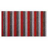 Tapis milieux humides INUCI® 0,40 x 0,60 m gris/ rouge