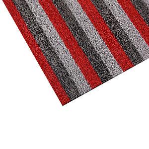 Tapis milieux humides INUCI® 0,80 x 1,20 m gris/ rouge