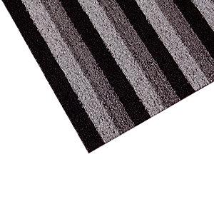 Tapis milieux humides INUCI® en rouleau 1 x 12,5 m, gris/ noir