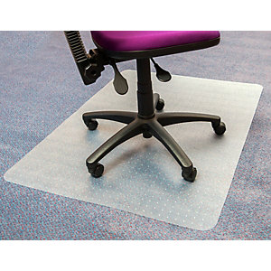 Tappeto salvamoquette in PVC, Trasparente, 120 x 90 cm