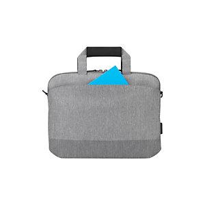 """TARGUS CityLite sacoche pour ordinateur portable, 14"""" - Gris"""