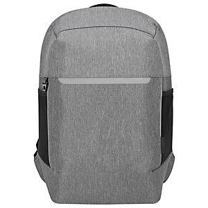 """Targus CityLite Security Sac à dos pour ordinateur portable jusqu'à 15,6"""" – Gris"""
