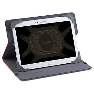 "Targus Custodia universale Fit-n-grip, Per tablet da 9 e 10"", Rosso"